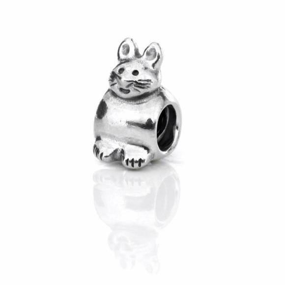 4f53e5c01 Pandora Jewelry | 925 Sterling Bunny Cat Charm | Poshmark